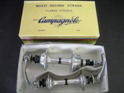 vintage hubs campagnolo nuovo record 36h small flange hubset new in box