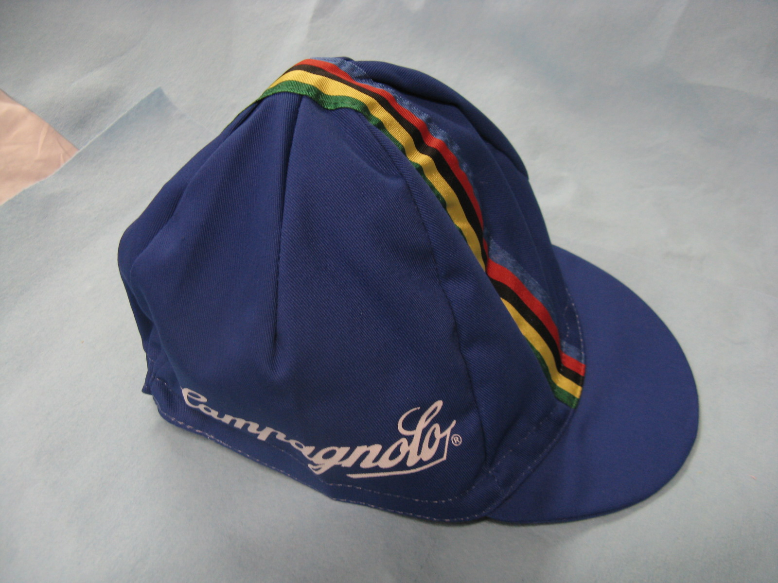 cagnolo cycling cap blue way cool